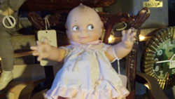 Antique toy baby doll